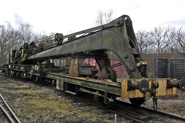 Self Propelled Rail Track Crane